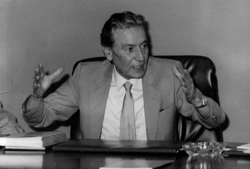 #12. Miguel Oliver Massutí, un científico, profesor, gestor de la ciencia y político que miraba al mar.