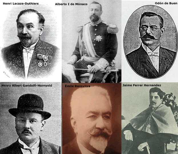 #31. Científicos decimonónicos que visitaron las Islas Baleares  para estudiar el Mar de las islas