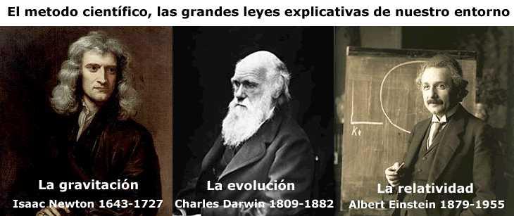 newton-darwin-einsterin