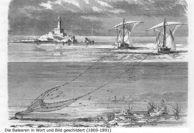 #36. La pesca de arrastre en Mallorca I: La primera generación de barques de bou a vela hasta la motorización (1800-1920)