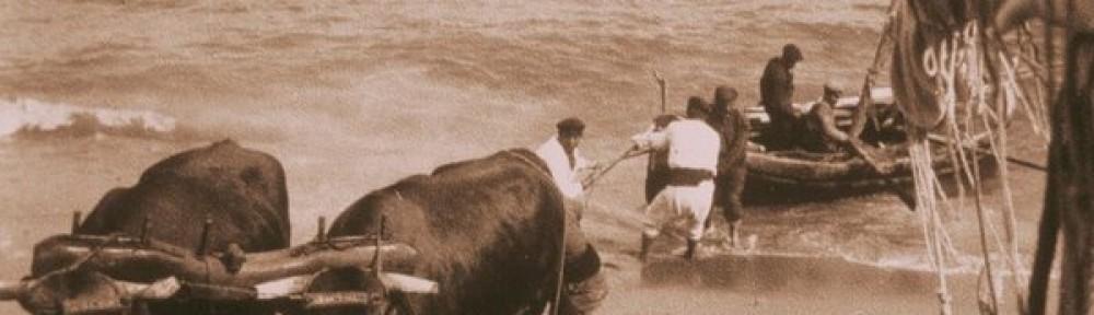 #61. Arte de pesca de bou en las parejas a vela (Las barques del bou de las Islas Baleares 2.1)